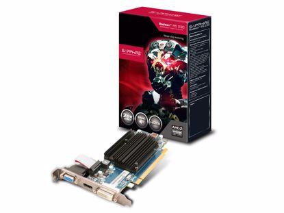 Fotografija izdelka SAPPHIRE Radeon R5 230 2GB GDDR3 silent low profile grafična kartica