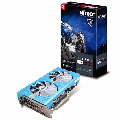 Fotografija izdelka SAPPHIRE NITRO+ Radeon RX 580 8GB GDDR5 Special edition (11265-21-20G) lite grafična kartica