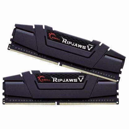 Fotografija izdelka G.SKILL Ripjaws V 16GB (2x8GB) 3200MHz DDR4 (F4-3200C16D-16GVKB) ram pomnilnik
