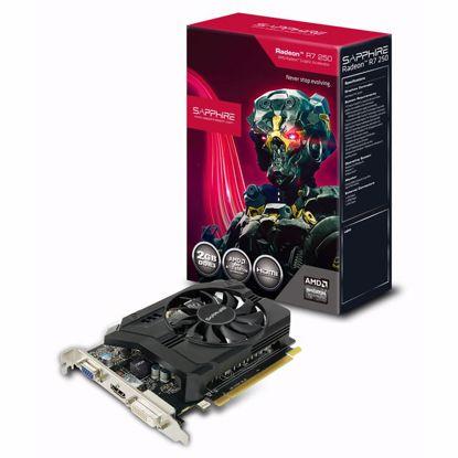 Fotografija izdelka SAPPHIRE Radeon R7 250 2GB GDDR3 Boost (11215-01-20G) Lite grafična kartica