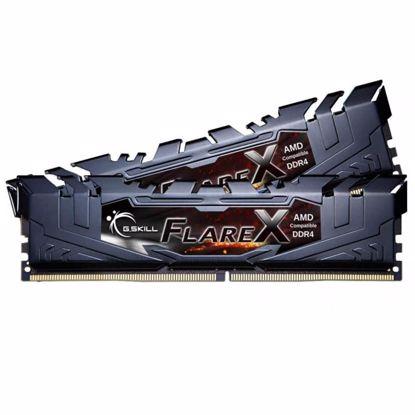 Fotografija izdelka G.SKILL Flare X 16GB (2x8GB) 3200MHz DDR4 (F4-3200C14D-16GFX) ram pomnilnik