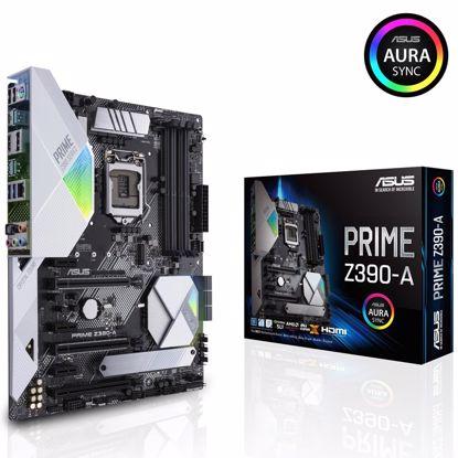 Fotografija izdelka ASUS PRIME Z390-A LGA1151 (9th/8th-gen) ATX DDR4 RGB matična plošča