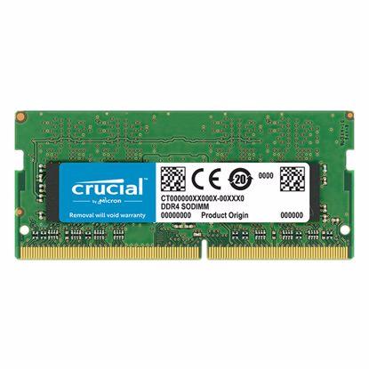 Fotografija izdelka CRUCIAL SODIMM 16GB 2400MHz DDR4 (CT16G4SFD824A) ram pomnilnik