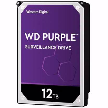 """Fotografija izdelka WD Purple 12TB 3,5"""" SATA3 256MB 7200rpm (WD121PURZ) trdi disk"""