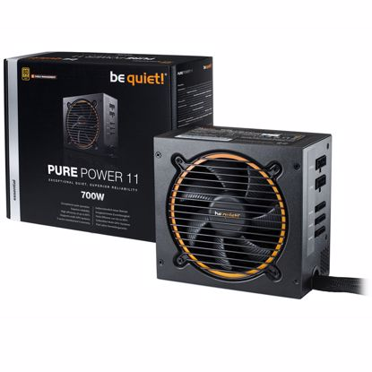 Fotografija izdelka BE QUIET! Pure Power 11 700W CM (BN299) 80Plus Gold modularni ATX napajalnik