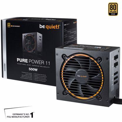 Fotografija izdelka BE QUIET! Pure Power 11 CM 500W (BN297) 80Plus Gold ATX napajalnik