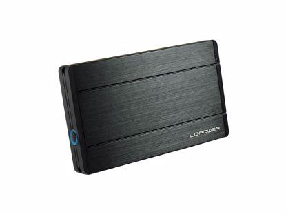 """Fotografija izdelka LC-POWER LC-25U3 Diadem USB3.0 za disk 6,35cm (2,5"""") črno zunanje ohišje"""