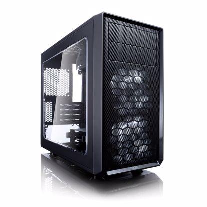 Fotografija izdelka FRACTAL DESIGN Focus G Mini MicroATX okno črno ohišje