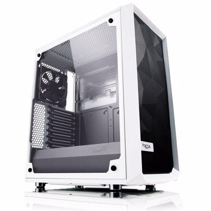 Fotografija izdelka FRACTAL DESIGN Meshify C White - TG midiATX okno črno ohišje
