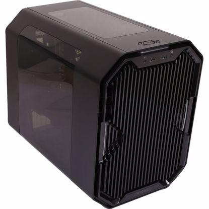 Fotografija izdelka ANTEC Cube mini-ITX okno LED črno ohišje
