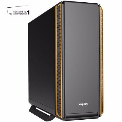 Fotografija izdelka BE QUIET! SILENT BASE 801 (BG028) midiATX črno/oranžno ohišje
