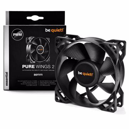 Fotografija izdelka BE QUIET! Pure Wings 2 (BL037) 80mm 4-pin PWM ventilator