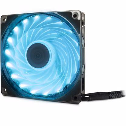 Fotografija izdelka INTER-TECH Argus L-12025 AURA RGB 120mm ventilator