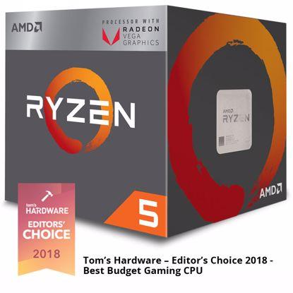 Fotografija izdelka AMD Ryzen 5 2400G 3,6/3,9GHz 4MB AM4 65W Wraith Stealth BOX procesor