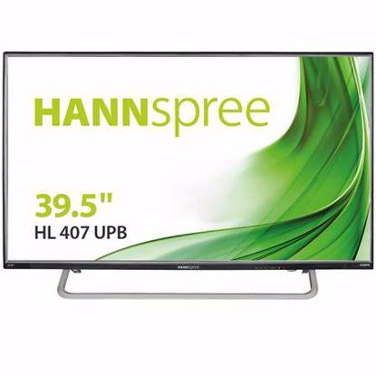 Fotografija izdelka HANNS-G HL407UPB 100,33 cm (39,5'') zvočniki IPS FHD LED monitor