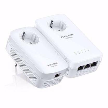 Fotografija izdelka TP-LINK TL-WPA8630PKIT AV1200 ac powerline z vtičnico starter kit brezžični WiFi powerline ojačevalec