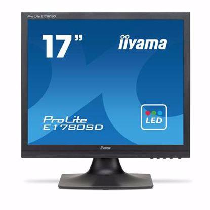 """Fotografija izdelka IIYAMA ProLite E1780SD-B1 43cm (17"""") SXGA TN VGA/DVI zvočniki LED LCD monitor"""