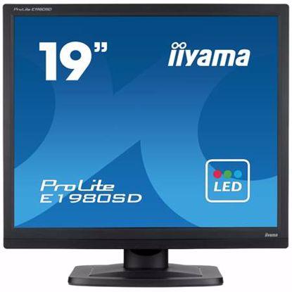 """Fotografija izdelka IIYAMA ProLite E1980SD-B1 48cm (19"""") SXGA TN VGA/DVI zvočniki LED LCD monitor"""