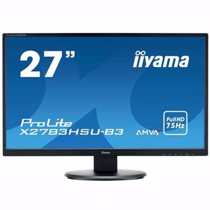 "Fotografija izdelka IIYAMA X2783HSU-B3 68,6cm (27"") FHD AMVA zvočniki LED LCD monitor"