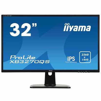 """Fotografija izdelka IIYAMA ProLite XB3270QS-B1 80cm (31,5"""") WQHD IPS zvočniki LED LCD monitor"""