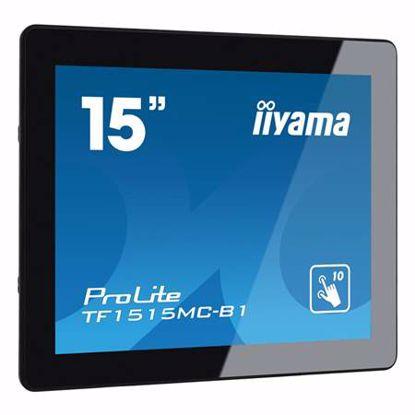 "Fotografija izdelka IIYAMA ProLite TF1515MC-B1 38cm (15"") FHD AMVA3 LED LCD open frame na dotik LED monitor"