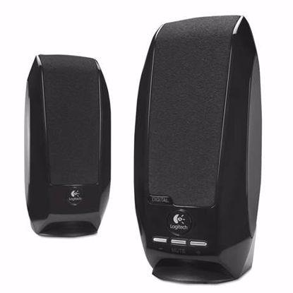Fotografija izdelka LOGITECH S150 2.0 1.2W USB črni zvočniki