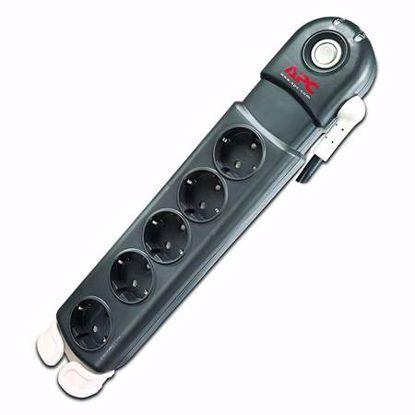 Fotografija izdelka APC SurgeArrest Essential PL5B-DE 5xSchuko (powerline) prenapetostna zaščita