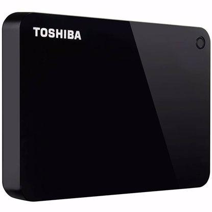 Fotografija izdelka Toshiba zunanji trdi disk Canvio Advance 1TB, 6,35cm, USB3.0, rdeč