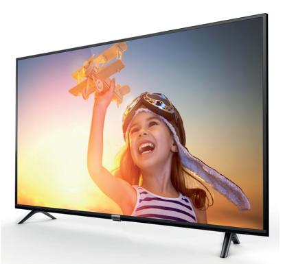 """Fotografija izdelka LED TV TCL 43"""" (diagonala 109cm) 43DP600, 4K UHD, Smart TV 3.0,,WiFi, HDR, 10bit, Micro Dimming, Slim"""