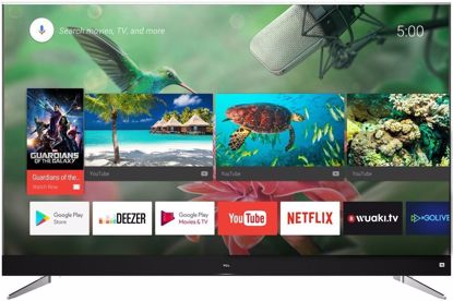 "Fotografija izdelka LED TV TCL 49"" U49C7006 4K UHD, Android, Smart WiFi, 1600Hz, HDR, 10bit, JBL/Harman, Ultra Slim"