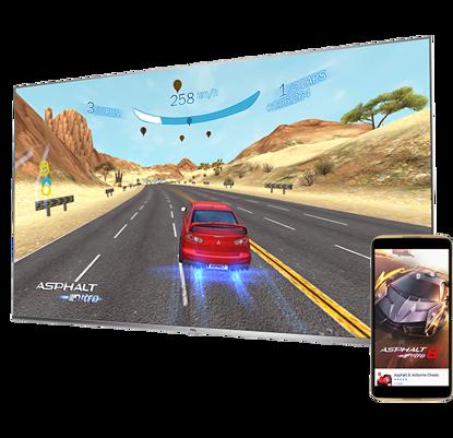 """Fotografija izdelka LED TV TCL 50"""" (diagonala 127cm) 50DP660, 4K UHD, Android, Smart, WiFi, 1500Hz, HDR Pro, 10bit, Wide Color Gamut, Ultra tanko ohišje"""