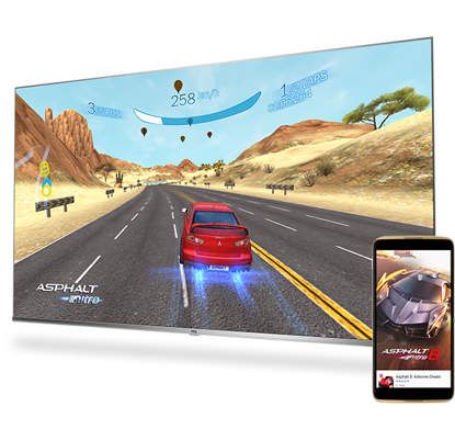 """Fotografija izdelka LED TV TCL 65"""" 65DP660, 4K UHD, Android, Smart, WiFi, 1500Hz, HDR Pro, 10bit, Wide Color Gamut, Ultra tanko ohišje"""