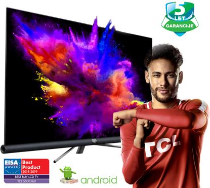 "Fotografija izdelka LED TV TCL 55"" (diagonala 140cm) 55DC760 4K UHD, Android, Smart WiFi, HDR PRO, 10bit, JBL/Harman, Micro Dimming, Ultra Slim"