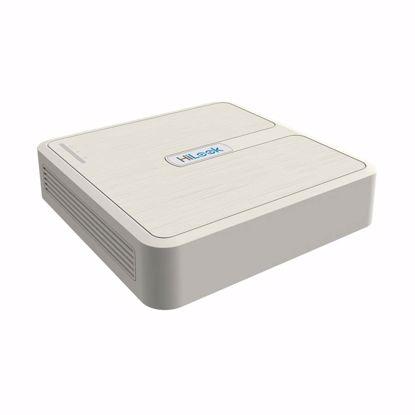 Fotografija izdelka Video snemalnik  NVR IP HiLook NVR-104H- D H.265+ 4-kanalni, HDMI, VGA