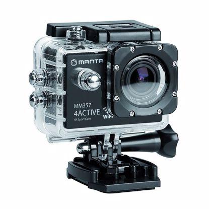Fotografija izdelka Aktivna Športna kamera MANTA MM357 4FUN Premium, 4K-UHD,WiFI