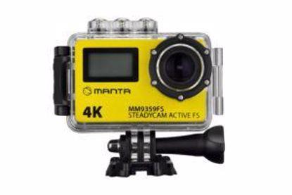 Fotografija izdelka Aktivna športna kamera MANTA MM9359FS z dodatnim zaslonom in stabilizacijo obraza, Premium, 4K-UHD,WiFi