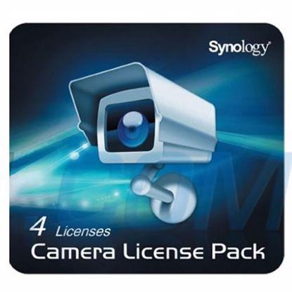 Fotografija izdelka SYNOLOGY NAS licenca SYNCL4 za dodatne 4 kamere