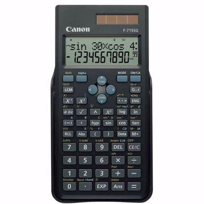 Fotografija izdelka Kalkulator CANON F715SG, črn