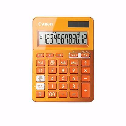 Fotografija izdelka Kalkulator CANON LS-123K oranžne barve