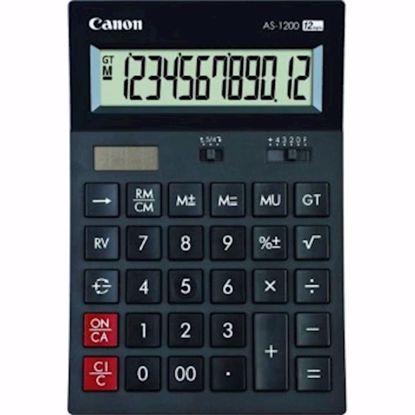 Fotografija izdelka Kalkulator CANON AS1200 namizni brez izpisa