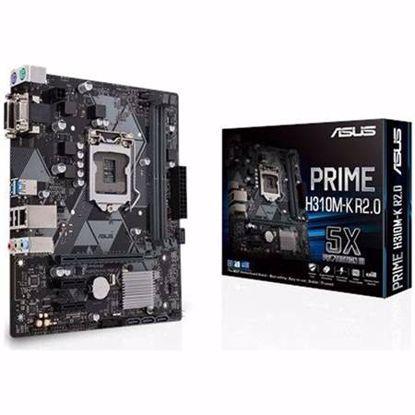 Fotografija izdelka ASUS PRIME H310M-K R2.0 LGA1151(8th-gen) m-ATX osnovna plošča