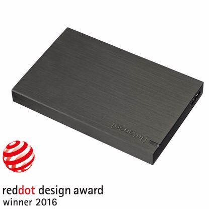 """Fotografija izdelka INTENSO Memory Case 500GB USB3.0 2,5"""" črn (6021530) zunanji trdi disk"""