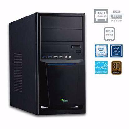 Fotografija izdelka PCPLUS e-office i5-8400 8GB 240GB SSD