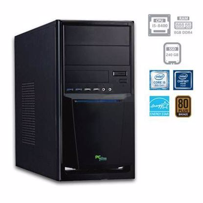 Fotografija izdelka PCPLUS e-office i5-8400 8GB 240GB SSD W10