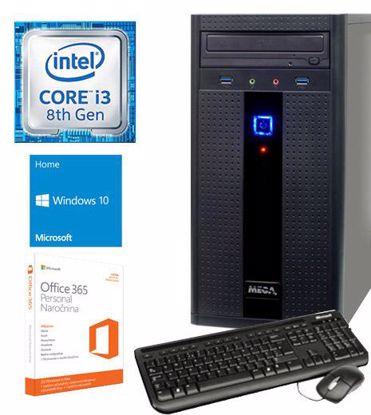 Fotografija izdelka Računalnik  MEGA 2000 i3-8100/4GB/SSD240GB/Win10Home/Office365 Personal