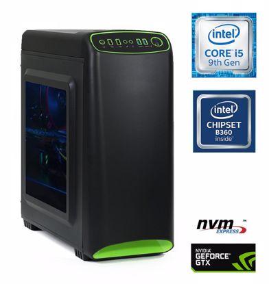 Fotografija izdelka Računalnik  MEGA 4000S-Gamer i5-9400F/16GB/SSD500GB-NVMe/HDD2TB/GTX1660-6GB