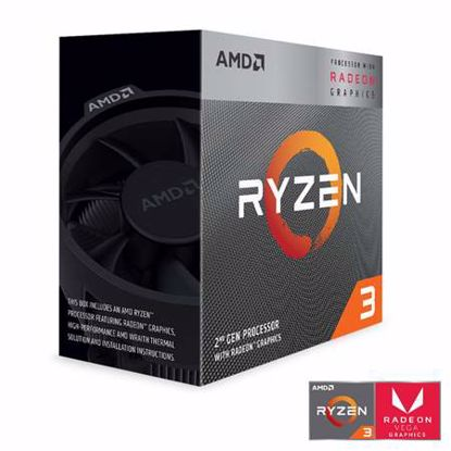 Fotografija izdelka AMD Ryzen 3 3200G 3,6/4GHz 4MB AM4 Wraith Stealth hladilnik Radeon Vega 8 BOX procesor