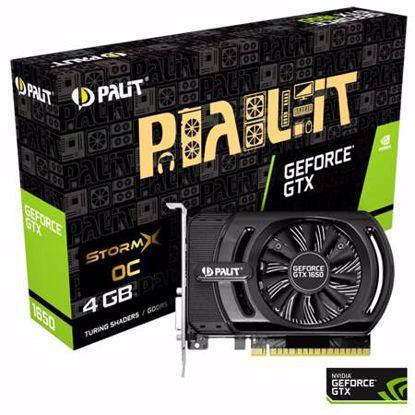 Fotografija izdelka PALIT GeForce GTX 1650 StormX OC 4GB GDDR5 (NE51650S06G1-1170F) grafična kartica
