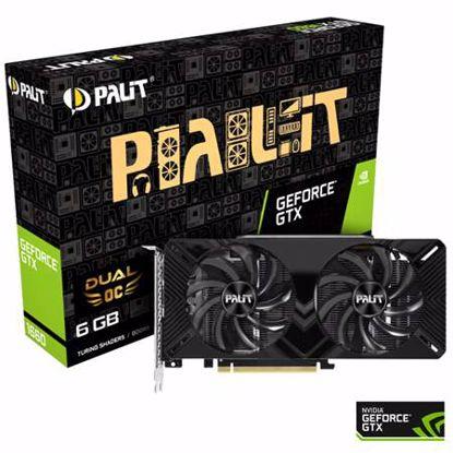 Fotografija izdelka PALIT GeForce GTX 1660 Dual OC 6GB GDDR5 (NE51660S18J9-1161A) grafična kartica