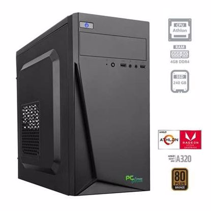 Fotografija izdelka PCPLUS i-net Athlon 200GE 4GB 240GB SSD W10